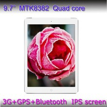 Android 4.4 MTK 8382 IPS Screen 3G Phone Call tablet pc micro soft office 9.7inch mid tablet pc