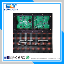 2015 New invention led module korea outdoor ph10 led display module red tupe