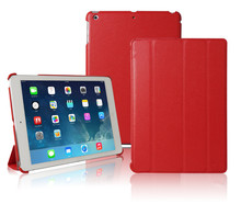 Super Slim Smart Cover For iPad Air Case Ultra Thin Leather Triple Folding Cover For iPad 5 Air Case Smart Cover iPad Air 1h