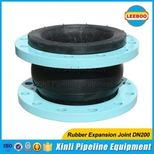 ANSI flange rubber flexible joint pipe