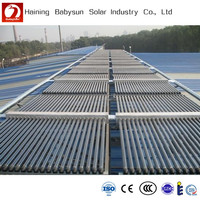 Project Use Vacuum Tube Solar Collector for Swimming Pool or Hotel, solar hot water heating system