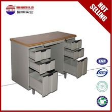 export to India steel modern office desk for staff