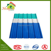Advanced Materials 4 Layers APVC Plastic Roof Tiles