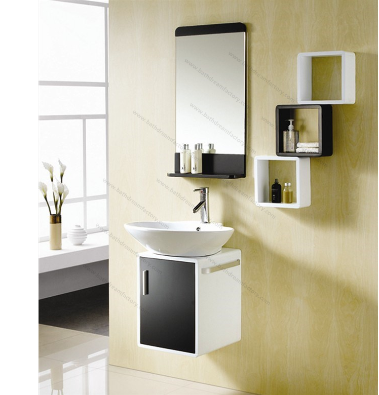 wall mounted pvc bathroom cabinet dc 1260