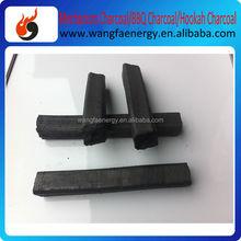 100% pure natural iran hot sale hookah bamboo charcoal