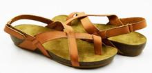 europeo di design 2015 in vera pelle donna sandali flat donna scarpe estive casual