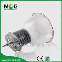 IP65 Bridgelux COB UL driver aluminum alloy or PC reflector 100w new design led high bay light