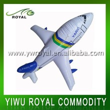 Promotional Children Plastic Inflatable Toy Airplane