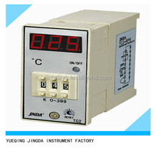 Digital LED display temperature differential thermostat, TC temperature regulator thermostat 220V temp. range( 0-399C )