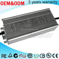 high quality IP67 80W Flood light Waterproof Full aluminum 700ma Led Driver with CE,Rohs