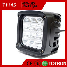 TOTRON Low Defective Rate Dual Beam Factory Supply High Power Auto Led Drl Driving Lights With Smart Controller