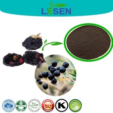Factory Supply Black Barbury Wolfberry Fruit P.E. / Black Goji Berry Extract / Goji Berry Extract Anthocyanin 25%