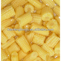 canned baby corn in cut