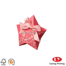 wholesale custom wedding favors foldable unique empty Candy Box with creative decors
