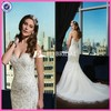 CE931 2015 Fall Arrival Gergeous Heavy Beaded Backless Mermaid Wedding Gown