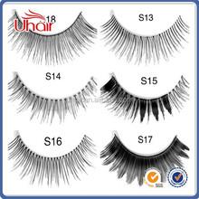 cosmetic wholesale artificial human hair eyelash,best type human hair extensions