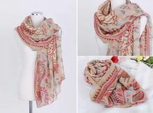 C83437A Bohemian style oversized lady scarf