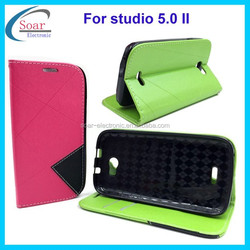 Top selling pouch wallet case for Blu studio 5.0 II,phone case for Blu studio 5.0 II