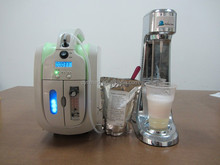 Italian oxygen cocktail machine BOLISS: o2 concentrator, mixer and foam forming agents