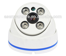 "High Vision Camera 15M Dome IP Camera Outdoor Dome DC12V POE Within Cmos Image Sensor 1/3"" 960P With Audio"