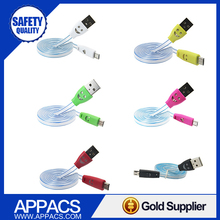 Novel flating charging 8 pin usb 2.0 data cable for iphone 4 5 5s 6