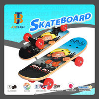 Hot sell 17*5 mini Maple Skateboard with 50*30mm PVC Wheels (EN13613 Certificate)