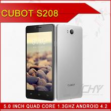 "hot selling ! 100% original 5.0"" cubot s2081GB RAM+ 16GB ROM quad core 1.3GHz dual sim card cell phone"