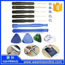 Factory price repair tools mobile phone 8 in 1 for iphone cheap and easy opening tools