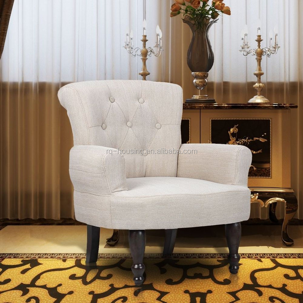White leather dining room chair