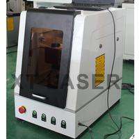 fiber laser marking machine on Titanium tools/ laser marker on firearms/low price Titanium laser marking machine wi for sale
