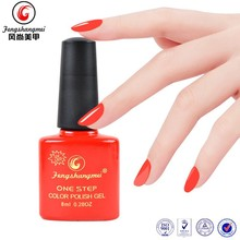 Popular salon professional 15ml shining one step gels nails polish