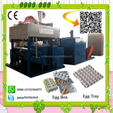 auto high-tech cake/egg tray making production line/favourable price waste paper recycling equipment/pulp moulding machine