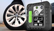 4 In 1 Quick Car Ball Boat Tire repair with sealant liquid 12 volt air compressor