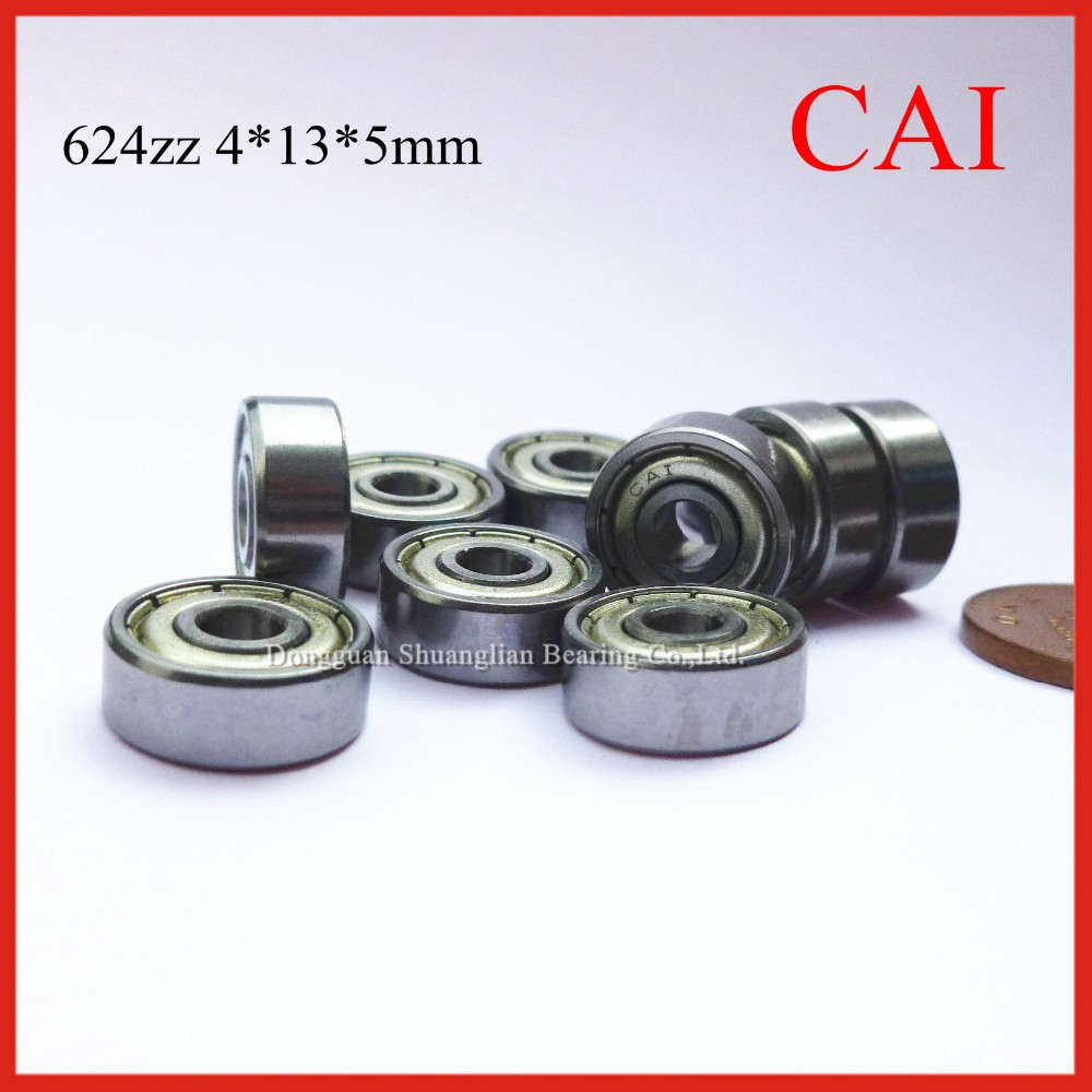 High Presion Low Noise Deep Groove Ball Bearing 624zz