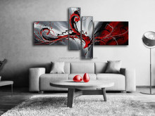 Modern Decorative handmade fabric art painting famous chinese paintings canvas painted picture frames