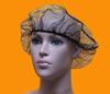 100 pack disposable 21'' black polyster plastic hairnets
