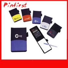 Personal Practical Notebook Shaped Scientific Calculator With Pen And Paper