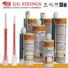 Liquid polyester resin capsule construction potting sealant for fastener bonding