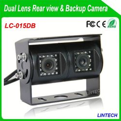 China supplier dual lens rear view camera rexton for trucks