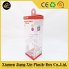Clear hard plastic packaging with offset printing
