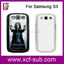 Hot new products for 2015 For samsung galaxy S3 Customized design sublimation phone case :