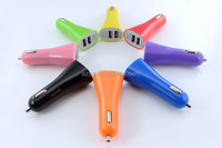 2014 Hot Factory selling 5V 2.1A Dual USB port car charger