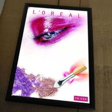 Loja de cosméticos caixa de luz loja de cosméticos fotos light box para cosméticos