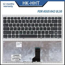 RU layout with frame laptop keyboard for ASUS K42 UL30 UL80 computer keyboard