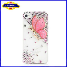 Rhinestone Crystal Diamond pearl Hard phone Case Cover for iphone4/4s