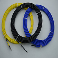Electric pipe heat trace cable manifold for heating