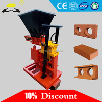 small construction production line eco brava hydraulic press brick making machine/manual brick making machine/brick clay machine