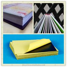 1.5mm photo album/book self adhesive high viscosity pvc foam sheet