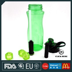 New product food safe portable sports water filter bottle