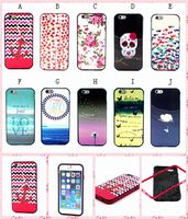 2 in 1 Case for iPhone 6 Hybrid Case, TPU Back Cover + PC Frame Case